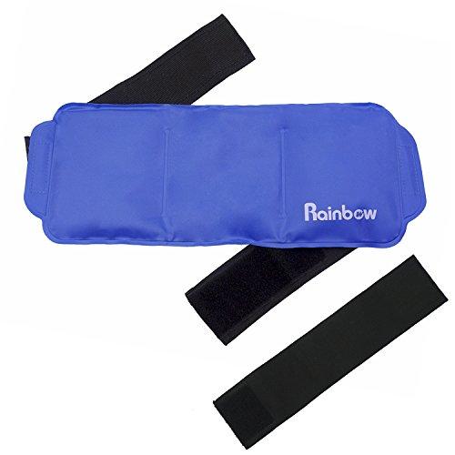 """Paquete de hielo de Hombros para Espalda, cuello, rodilla, reutilizables grandes gel frío o caliente paquetes para lesiones médicas 15""""x 5.9"""""""
