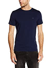 Hilfiger Denim Herren T-Shirt Original Cn Knit S/s