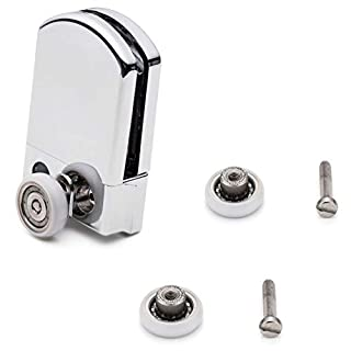 1 x Top Shower Door Hanger Type Unit/Wheels/Runners Bundle Small 19mm Wheel Diameter J058