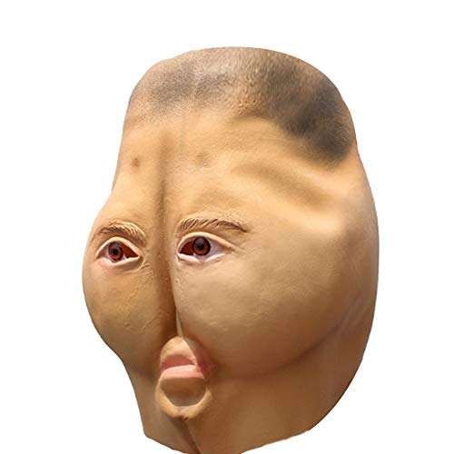 Kostüm Moderne Maskerade - WWJIE Halloween-Maske, Latex, lustige Maske, Tricky Maskerade Bar Requisiten