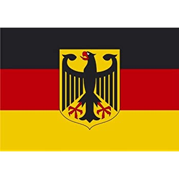 fahne flagge deutschland mit adler neu 150 x 250 cm. Black Bedroom Furniture Sets. Home Design Ideas