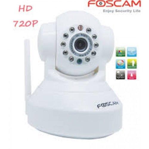 Foscam FI9818W accordo con slot per fotocamera (720 P, HD, fino a 8 m modalità) Bianco