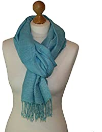 Unisex Viscose checked weave detail scarf/pashmina/wrap/head scarf available in other colours