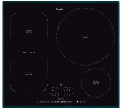 Whirlpool Induction Hob ACM 847, Black