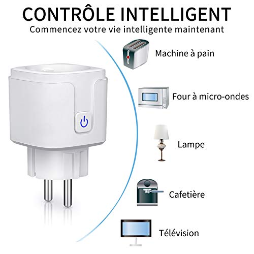 Une prise intelligente pour gérer au mieux vos appareils électriques - 41TxHhNkQmL - Une prise intelligente pour gérer au mieux vos appareils électriques