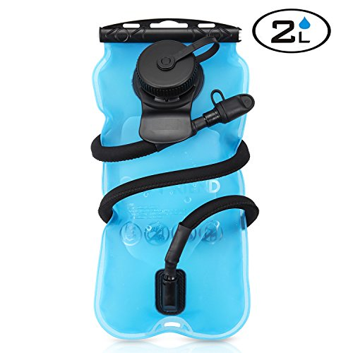 GoFriend® Hydration Bladder 3 Litres 3L(100oz)/ 2 Liters 2L(70oz) Water Bladder Outdoor Water Reservoir Pack Backpack System Water Bag, BPA-FREE & FDA Approved, Great for Cycling, Hiking, Running, Camping, Walking