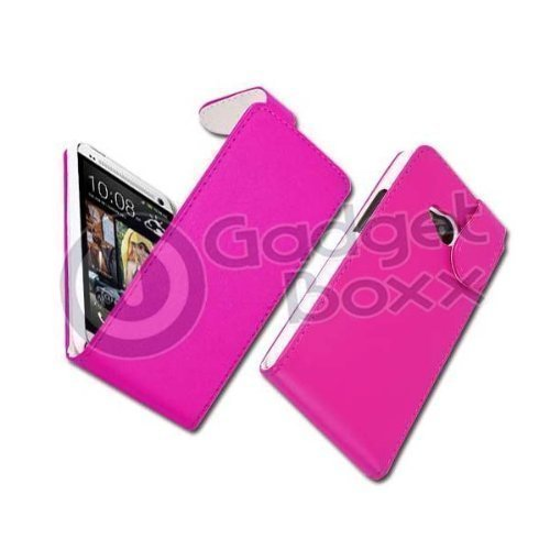 gadget-boxx-pu-leather-flip-in-hot-pink-for-htc-one-m7