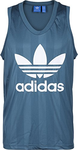 adidas Adicolor Summer Trefoil Tanktop Blau
