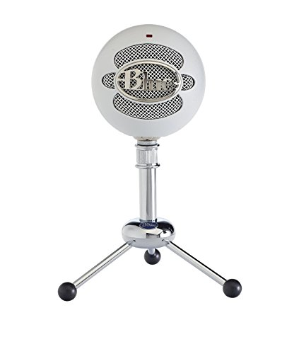Blue Microphones Snowball Microfono USB, Bianco