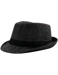 Gysad Cappello Uomo Invernali Cappello di Feltro Cappello da Jazz Cappello  Caldo Cappelli Classici Cappelli da 8cb4f7e3903a