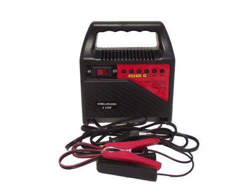 Filmer 36198 - Cargador de batería (6 A, 6 y 12 V)