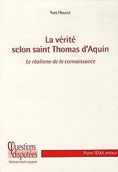 La Vérite selon Saint Thomas d'Aquin