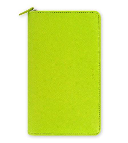 Filofax 22537 Organizer Compact Saffiano Zip, pear - Reißverschluss Compact Brieftasche