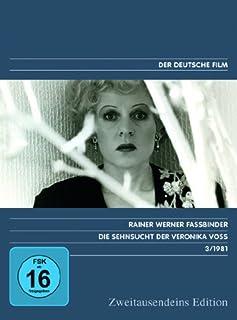 Die Sehnsucht der Veronika Voss - Zweitausendeins Edition Deutscher Film 3/1981