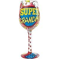 Lolita Copa de Vino de la Marca, Palabras en inglés «Super Grandma»