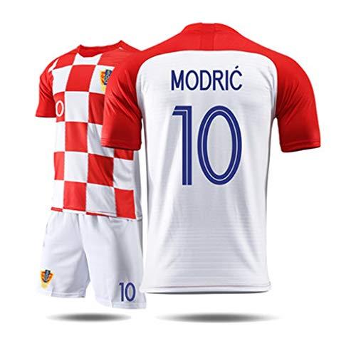 GXYGWJ Camiseta de Manga Corta para Hombre, Traje Deportivo, Traje de Entrenamiento de fútbol, Camiseta de la Copa Mundial de Croacia, Croacia Camiseta de Baloncesto (Color : B, Size : 2XL)