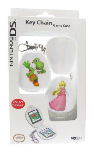 Venom Nintendo Licensed Yoshi and Peach Game Case Keychain for DS Lite (Nintendo DS/DSL/Dsi/DSi XL/3DS) [Edizione: Regno Unito]