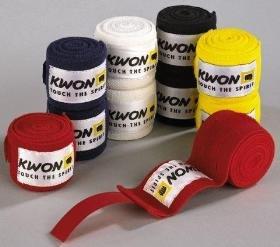 KWON Elastische Boxbandagen weiß