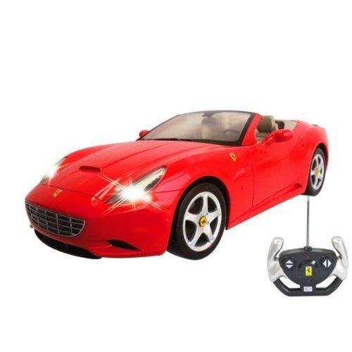 RC Auto kaufen Rennwagen Bild 3: Ferrari California Cabrio - RC ferngesteuertes Lizenz-Fahrzeug im Original-Design, Modell-Maßstab 1:12, Ready-to-Drive, Auto inkl. Fernsteuerung, Neu*