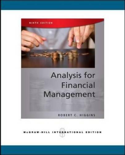 Analysis for Financial Management por Robert C. Higgins