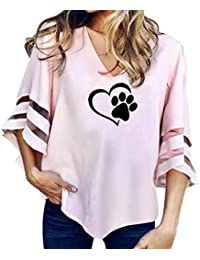 Challeng Femmes Dames Floral Imprimé Tuxedo Wrap Over Satin Body Jumpsuit,Chemise  Femme… EUR 5,99 · Challeng Femme Empreintes de Chat Impression Manchon ... 5bb51d5b02ff