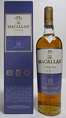 Macallan - Fine Oak Speyside Single Malt - 18 year old Whisky