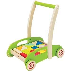 Hape - Chariot avec blocs