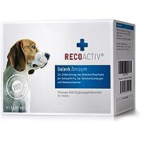 [Gesponsert]RECOACTIV® Gelenk Tonicum für Hunde - Kurpackung 3x90 ml – getreidefrei – mit Grünlippmuschel, Glucosamin, Chondroitin, Teufelskralle, Weidenrinde & Schachtelhalm, Inhaltsstoffe in Humanqualität, deutsches Produkt