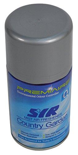 SYR X0072000 Mist Fragrance Aerosol Air Freshener, Country Garden (Pack of 12)