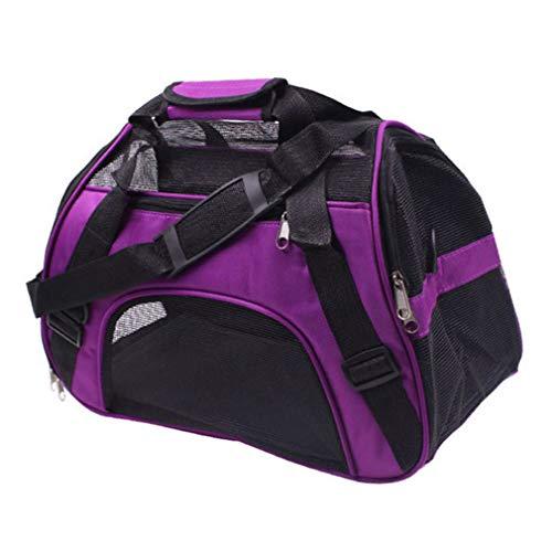 Haustiertasche Transporttasche für Kleine Hunde und Katzen Tasche Reise Wasserdicht Trägerkäfig katzentasche transporttasche Hundetasche