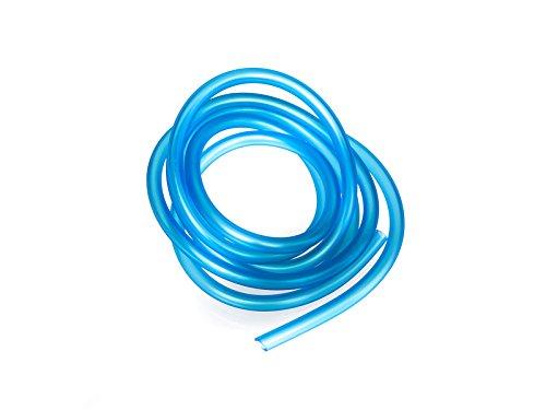 MZA Benzinschlauch, Blau-transparent, 2 Meter, Ø 5x8,2mm