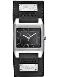 s.Oliver Damen-Armbanduhr Analog Quarz SO-2465-LQ