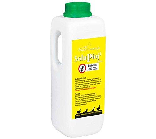 SoluPioj 500 ML. Para la eliminación natural contra pulgas, piojos, garrapatas y chinches