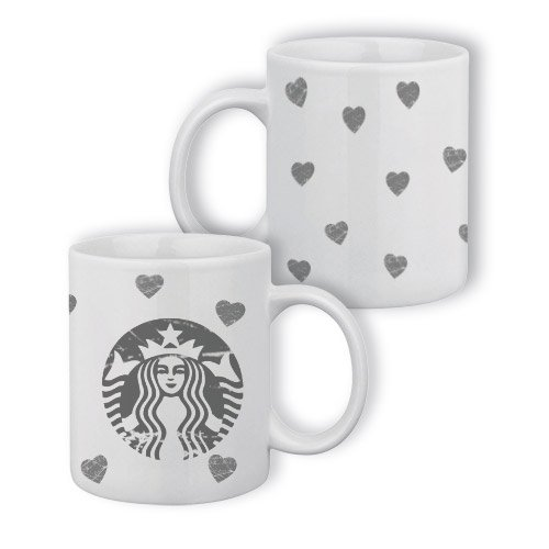 Mug Starbucks & hearts destroy - Fabriqué en France - Chamalow Shop
