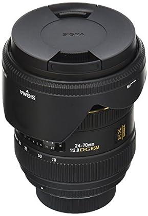 Sigma 24-70mm f2.8 IF EX DG HSM Nikon - Objetivo para Nikon (distancia focal 24-70mm, apertura f/2.8), negro