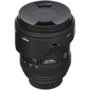 Sigma 24-70mm F2.8 IF EX DG HSM Zoom Lens for Nikon Digital and Film SLR Cameras