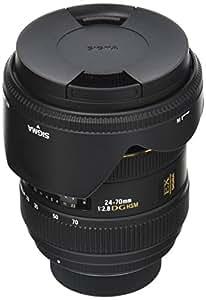 Sigma 24-70 mm F2,8 EX DG HSM-Objektiv (82 mm Filtergewinde) für Nikon Objektivbajonett
