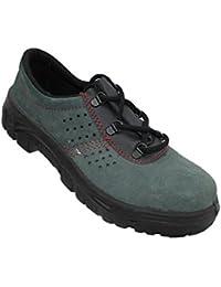 Lupriflex - Chaussures De Sécurité En Cuir Pour Les Hommes, Couleur Noir, Taille 36 Eu