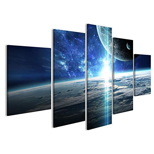 Cuadro Cuadros Escena del Universo con Planetas