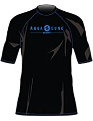 AquaLung RASHGUARD schwarz-blau