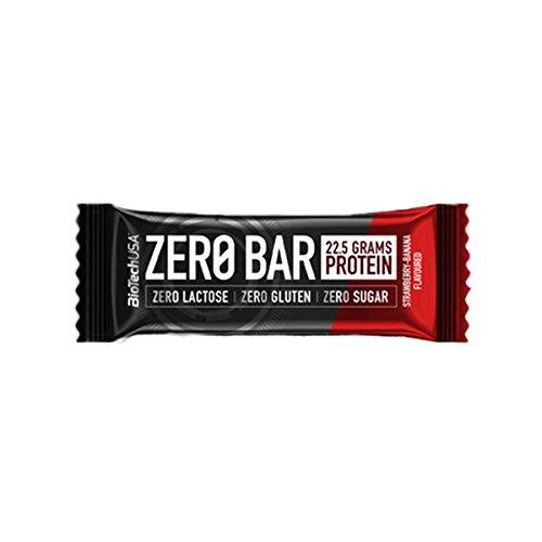 Biotech usa - barretta zero bar - 50g - cioccolato con nocciola