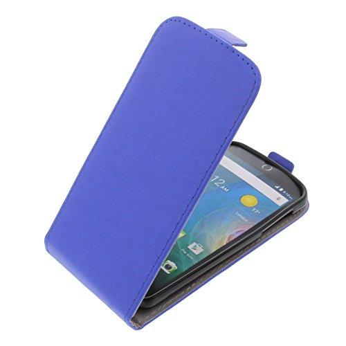 foto-kontor Tasche für Acer Liquid Z330 Liquid M330 Smartphone Flipstyle Schutz Hülle blau