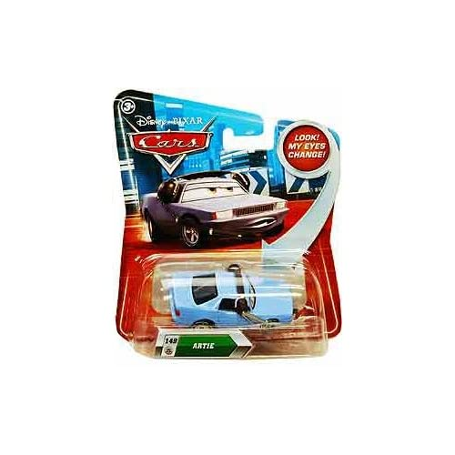 Disney Pixar V1611 Cars Lenticular Eyes #149 Artie 1:55 Diecast Vehicle Car 1