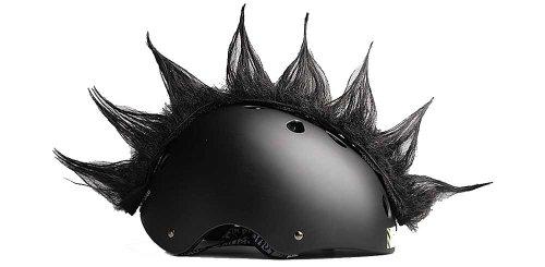 Wiggystyle Spike (Nero) cresta per casco - Spike Black