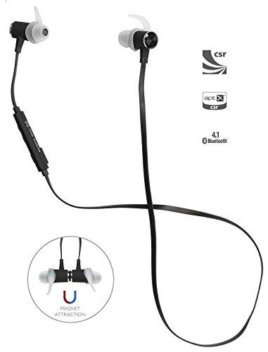 stay mobile PREMIUM Bluetooth Kopfhörer mit Mikrofon und magnetischem Headset, schwarz thumbnail