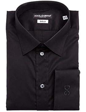 Dolce & Gabbana -  Camicia classiche  - Logotipo - Basic - Classico  - Uomo