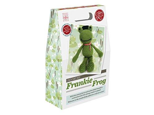 Crafty Kit Company CKC-CK-042 Crochet Kit Frankie Frog