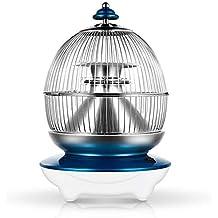 Calentador De Tubo De Halógeno Diseño Con Estilo Personal Calentador De Espacio Con Termostato Ajustable 400W