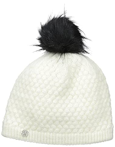 Spyder Girls Icicle Hat, One Size, White/Black