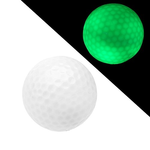 Night Flyer Golf dng010 CL Light Up Neuware Sichtbarkeit LED Golf Ball, grün